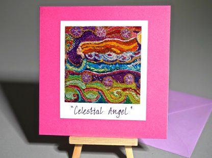 Celestial angel card
