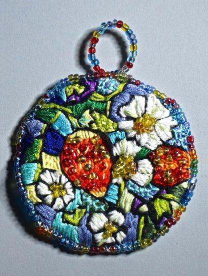 Strawberry medallion